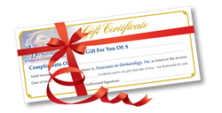 Purchase your gift certificate today