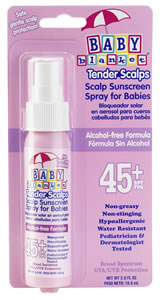 Baby Blanket Scalp Spray SPF 45 - Sunscreen Protection