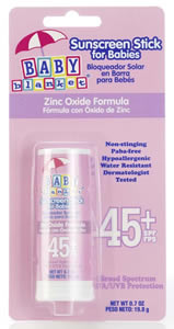 Baby Blanket Stick SPF 45 - Sunscreen Protection