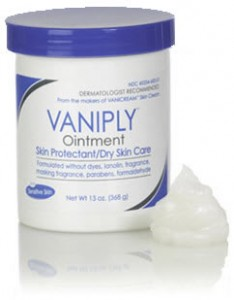 Vaniply Ointment Jar
