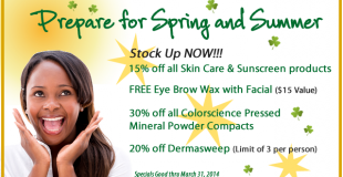 Prepare for Spring and Summer Hampton Dermatologist Specials