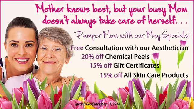 2014 Mother's Day Specials