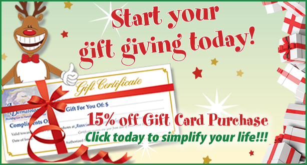 Start Your Holiday Gift Giving Today!