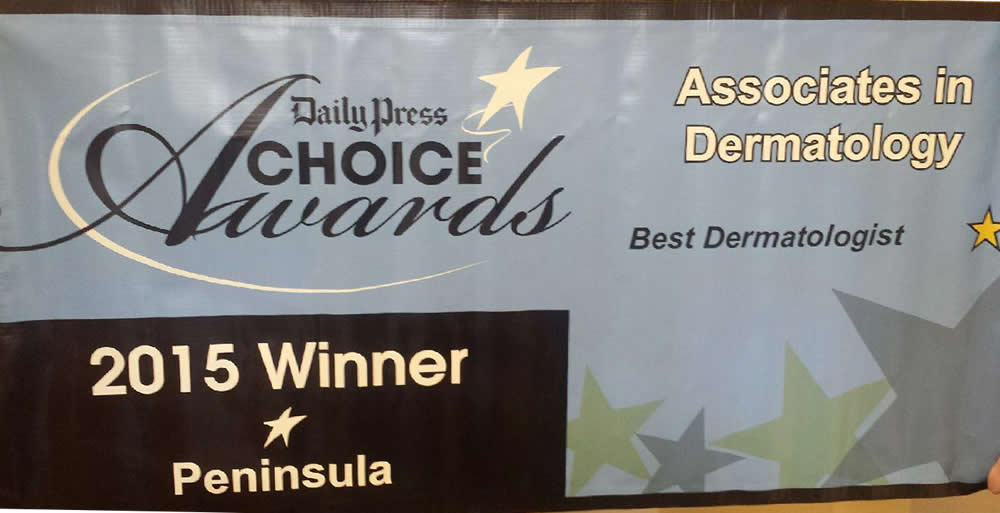 2015 Daily Press Choice Award for Best Dermatologist
