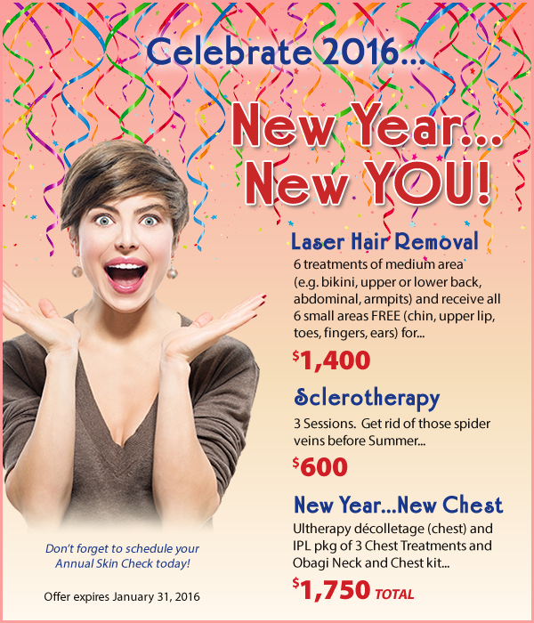 New Year New You Specials