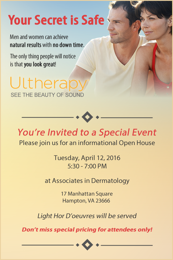 Ultherapy Open House Event