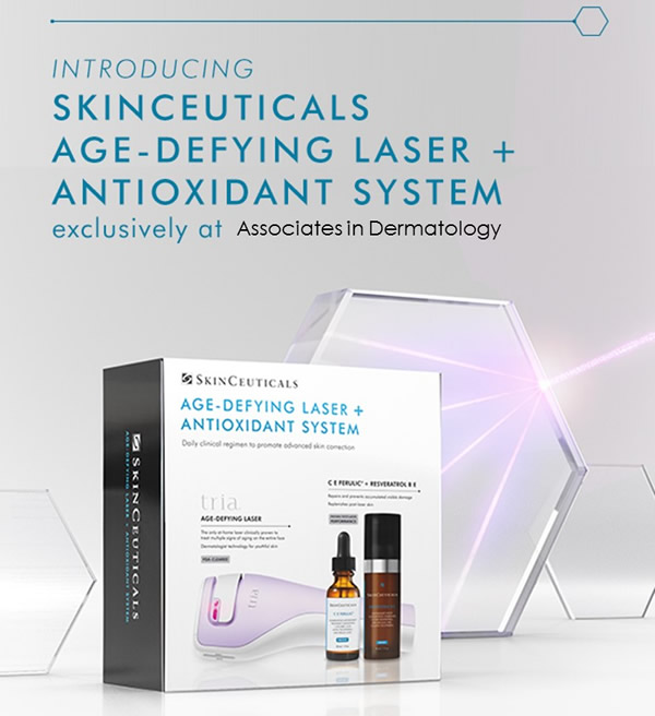 Age-defying Laser + Antioxidants
