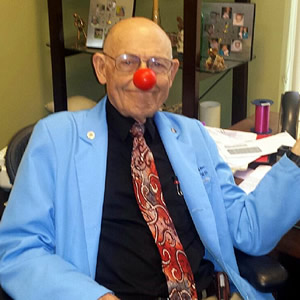 Red Nose Fun with Dr. William L. Coker