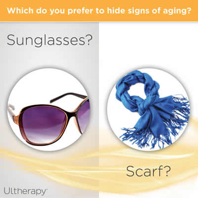 Ultherapy Sunglasses or Scarf