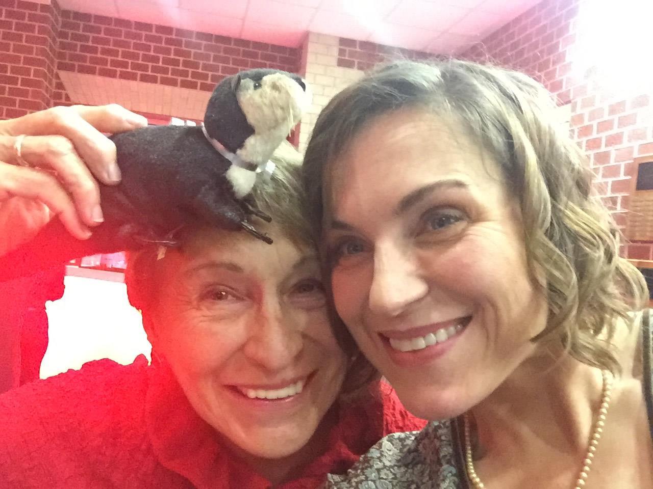Gloria Coker and Dr. Leslie Coker Celebrating 2015 Daily Press Choice Awards