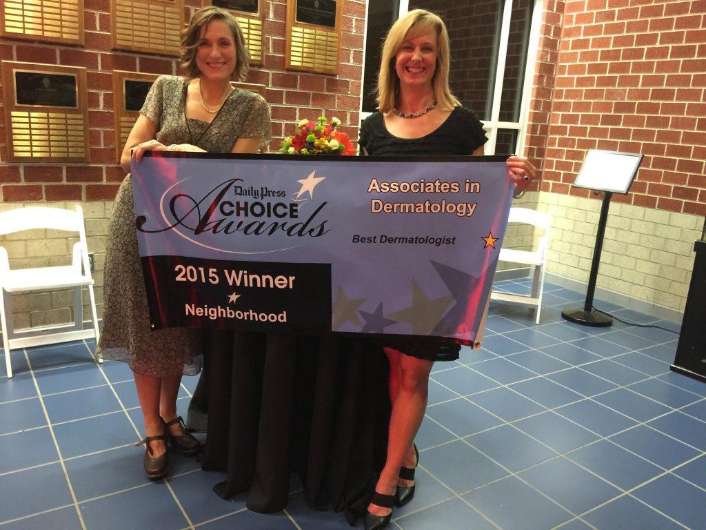 Sharing the 2015 Daily Press Choice Awards Winner Banner