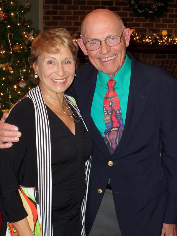 Gloria Coker and Dr. Luke Coker