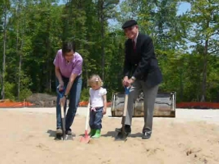 Breaking Ground for New Facility