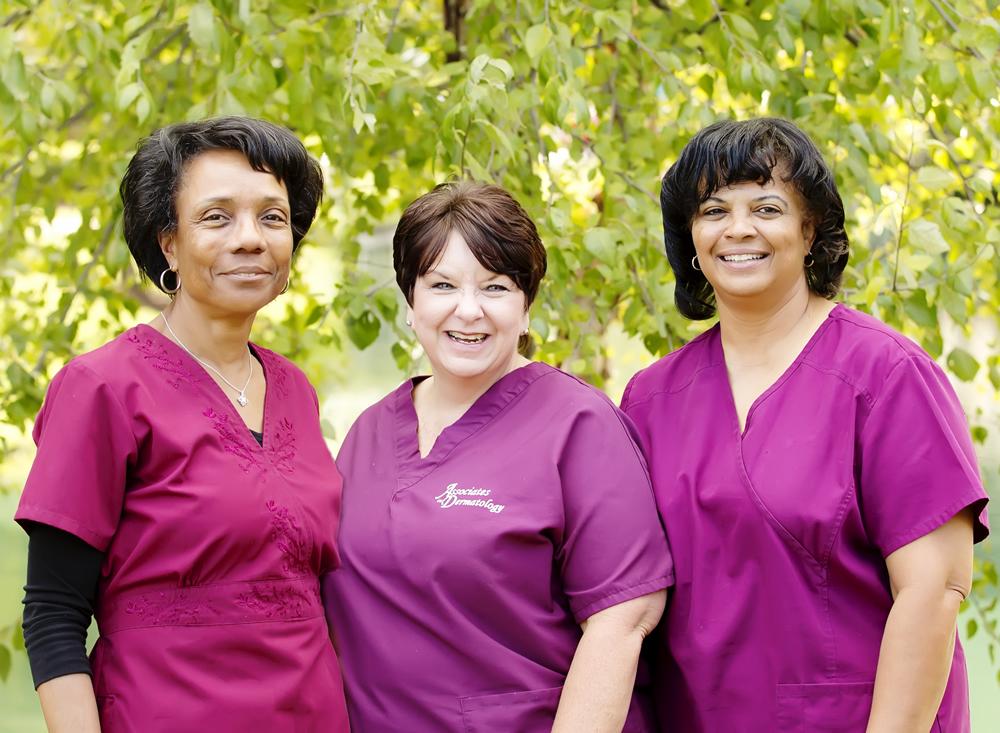 Staff at Associates in Dermatology