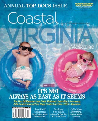 Coastal Virginia Magazine October 2017 Top Docs Issue