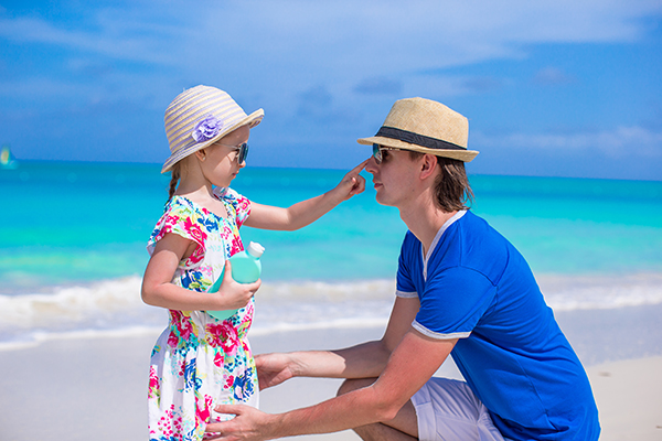 Preventing Skin Cancer - remember your sunscreen