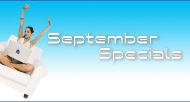 September Skincare Specials