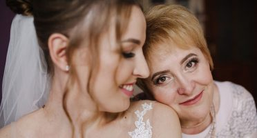 Mother of the Bride at Wedding