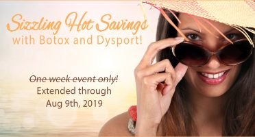 July Botox and Dysport Special Extended