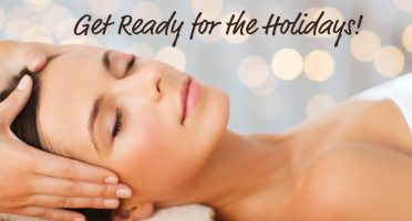 Get ready for the Holidays with relaxing facial treatments