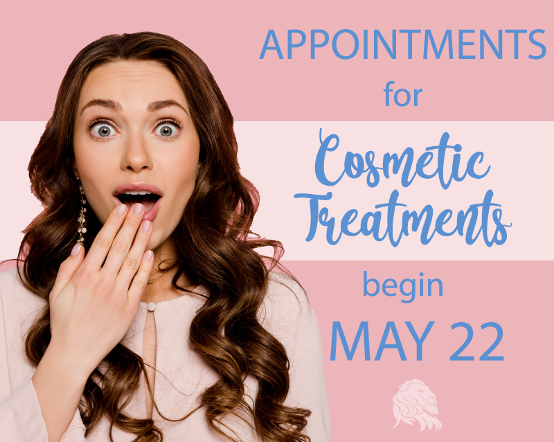 Appointments for cosmetic treatments